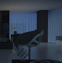 Perspective architecture : Etude de luminosité réelle. Rendu 3d photoréaliste. 2/2