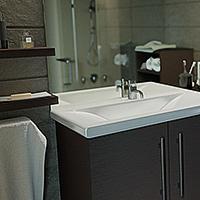 Perspective architecture : Salle de bain - Bathroom