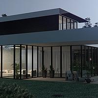 Visuel 3d architecture - Villa de grand standing en 3d photoréaliste